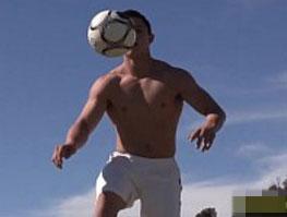 Jogador gay sarado mostra pau gostoso