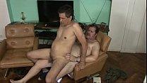 Coroa gordo gay em vídeo de sexo amador