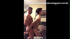Sogro gay me come gostoso em casa filmando o sexo